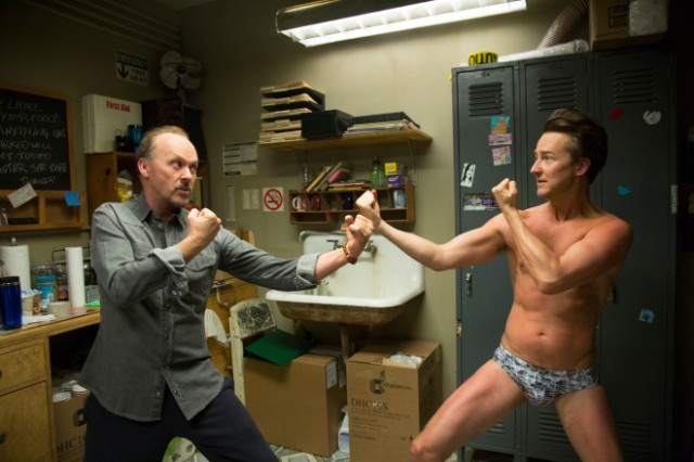 The fights in Birdman are a bit less than super. [towleroad.com]