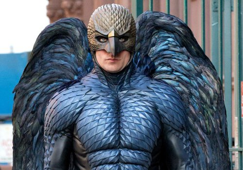 The Birdman himself, in his awesome avian glory. [guardianlv.com]