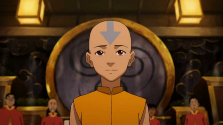 Let's end things with a ray of hope, instead of the sad picture of Korra in a wheel chair.